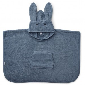 RĘCZNIK PONCHO RABBIT BLUE WAVE LIEWOOD