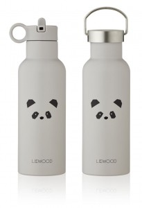 BIDON TERMICZNY 500 ML NEO PANDA LIGHT GREY LIEWOOD
