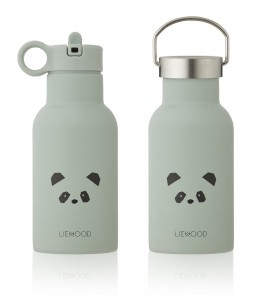 BIDON TERMICZN 350 ML PANDA DUSTY MINT LIEWOOD