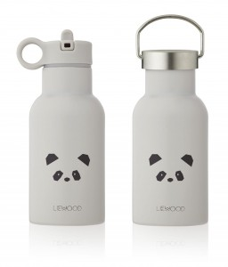 BIDON TERMICZN 350 ML PANDA LIGHT GREY LIEWOOD