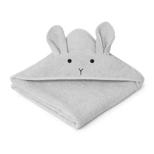 RĘCZNIK Z KAPTURKIEM RABBIT DUMBO GREY LIEWOOD